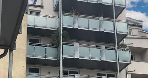 wohngebaeude mit anbau balkonen von ck immobilien